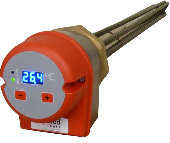 digital industrial immersion heaters